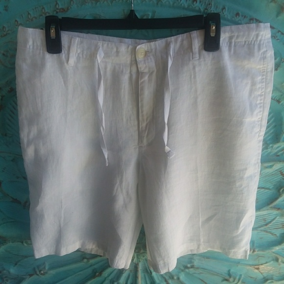 Perry Ellis Other - 😁NWT PERRY ELLIS Linen Shorts